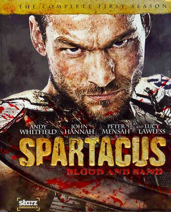 SPARTACUS BY TAPERT,ROB (Blu-Ray)