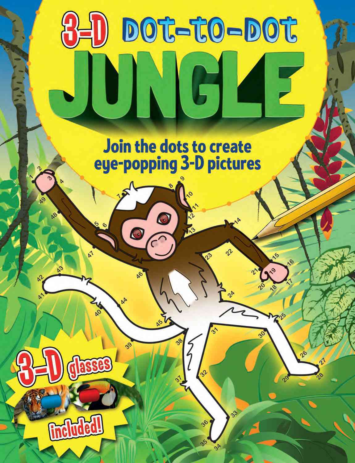 3D Dot-to-Dot Jungle By Arcturus Publishing (COR)